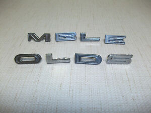 1963 Oldsmobile F85 Cutlass Jetfire Trunk Letters