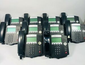 Lot Of 10 Polycom Soundpoint Ip 450 Digital Business Telephone