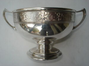 Gorham Co Sterling Loving Cup Putti Freeze Union Square N Y Mark 1876