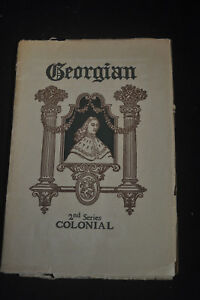 1899 Georgian Colonial Towle Sterling Silver Catalog