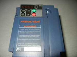 Fuji 3 Hp Ac Drive Inverter 3 Phase 380 480variable Speed Control Frn003e1s 4n