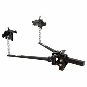 Husky Towing 31335 Pin Trunnion Bar Weight Distribution Hitch 801 To 1200 Tongue