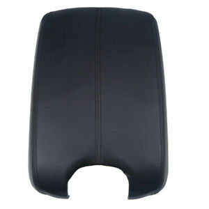 Car Armrest Center Console Leather Cover Black Cap For Honda Accord 2008 2012 Us