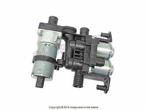 Bmw E38 E39 03 1996 2003 Heater Control Valve W Auxiliary Water