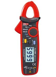 Hi resolution Up To 0 1ma True Rms Mini Clamp Meter V a Ohm Cap Vfc Ncv Ut211a