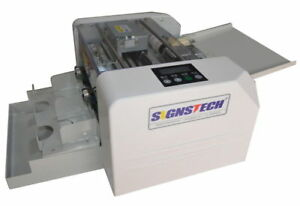 A4 Automatic Business Card Cutter flyer And Photo Cutting Machine Economic