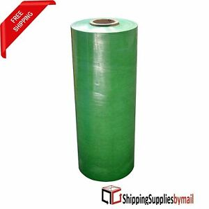 Pallet Machine Stretch Wrap Plastic Shrink Film Green 20 X 63 Ga 5000 5 Rolls