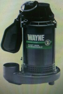 New Wayne Cdt50 1 2 Hp Submersible Epoxy Coated Cast Iron Sump Pump