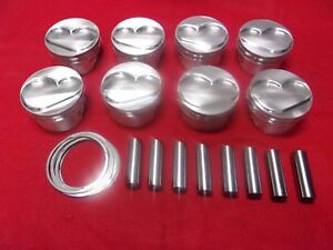 Diamond Sbc Pistons Pins 4 1260 Bore Ch 1 100