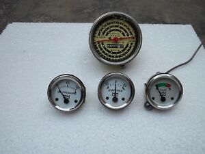 Minneapolis Moline Tractor Tachometer And Gauge Kit Fit Early M670 Gas diesel