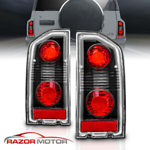 1988 1998 Suzuki Vitara sidekick geo Altezza Style Black Brake Tail Lights Pair