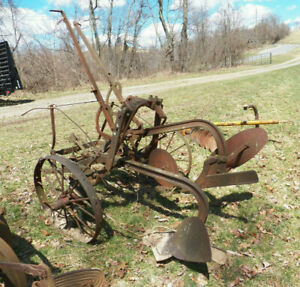 Ihc 2 Way Plow Pull Type Single Bottom International Harvester Tractor Or Horse
