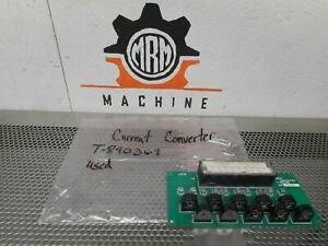 Current Converter T 890369 Board Used With Warranty
