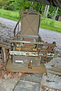 Vtg Antique Addressograph Corp Dog Tag Address Embossing Machine 6200 Parts