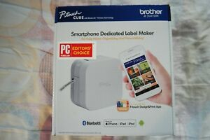 Brother P touch Cube Smartphone Label Maker Bluetooth Wireless Pt p300bt New