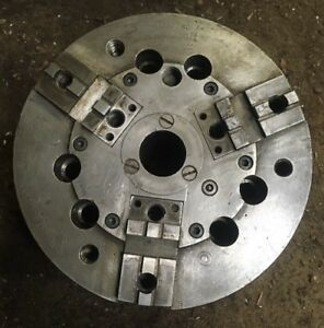 A1 6 Skinner 3 Jaw 8 1 4 Power Chuck Cnc Metal Large Machinist Tool