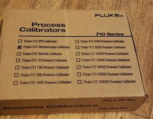 Fluke 714 Thermocouple Calibratorprocess Calibrator