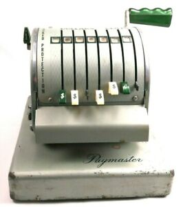 Vintage Paymaster Check Writer series X900 1962 free Ship