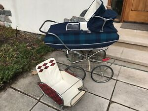 Vintage Baby Carriage Stroller German Made Good Condition