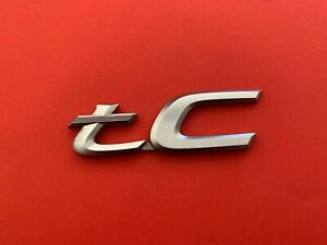 05 06 07 08 09 10 Scion Tc Rear Trunk Lid Emblem Logo Badge Sign Symbol Oem 9