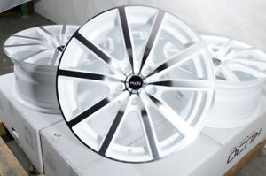 18 Wheels Fit Honda Accord Civic Prelude Nissan Altima Maxima Avalon White Rims