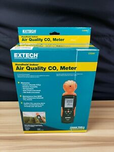 Extech Co240 Handheld Indoor Air Quality Co2 Meter Instrument brand New 5670 2