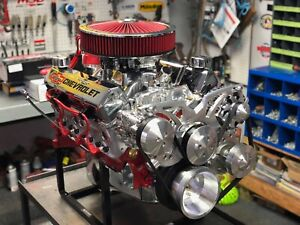Sbc 383 Cubic Inch Stroker Crate Engine 450hp Complete Engine