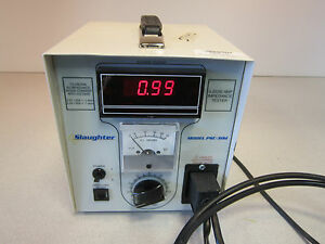 Amp Impedance Tester Psc 30d Slaughter 9 x 8 x 9 Powers On