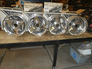 15 X 8 5 Vintage Nos Spectrum Pantera Wheels Rims 21 Series 5 Lug