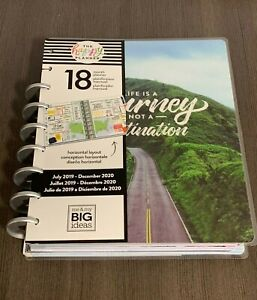 Damaged New Create 365 The Happy Planner Wild Free 18 Months