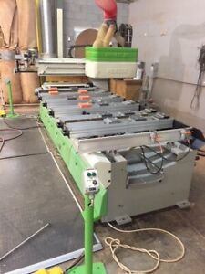 2001 Biesse Cnc Pod Rail Rover 23 Used Disconnected And Ready To Move