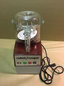 Robot Coupe R2b Clr Food Processor Commercial Cutter Mixer 3 Qt