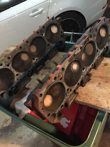 3769902 Casting Cylinder Heads 400 440 Big Block Mopar Oem Used Cast Iron Heads