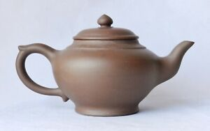 Antique Chinese Large Yixing Zisha Purple Clay Teapot Old Mark