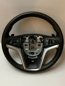 10 11 12 13 14 15 Chevy Camaro Steering Wheel Oem Leather Wrapped Pre Owned