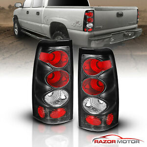 1999 2000 2001 2002 Chevy Silverado Gmc Sierra 1500 2500 3500 Smoke Tail Lights