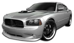 Duraflex Daytona Look Front Lip Air Dam Base Model For 2006 2010 Dodge Charger