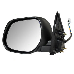 10 11 Mitsubishi Outlander 11 17 Sport Drivers Side View Power Mirror Heated