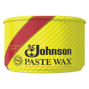 Sc Johnson 203 Paste Wax floor Protector 16 Oz pk6