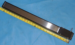 New Linear Positioning Stage 615mm X 45mm Travel 510mm Table 100mm X 58mm Shaft