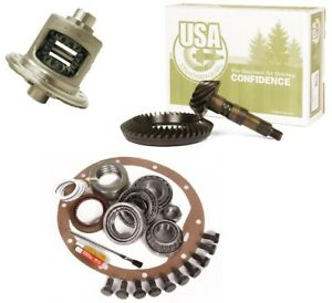 Jeep Wrangler Yj Tj Xj Dana 35 4 56 Ring And Pinion Traclok Posi Usa Gear Pkg