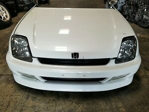1997 2001 Honda Prelude Sir Front End Conversion Jdm Nose Cut Bb6 Pearl White