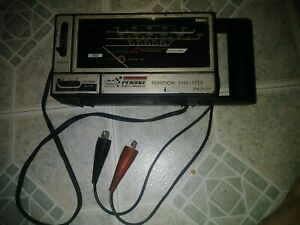 Ignition Analyzer Diagnostic Automotive Tool Sears Penske 244 21019 Vintage