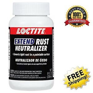 Loctite 8 Ounce Extend Rust Neutralizer Chemically Converts Rust To Neutral