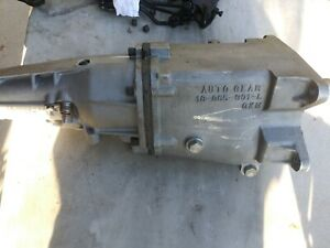 Chevrolet Buick Olds Pontiac Autogear M22 Supercase 4 speed Transmission