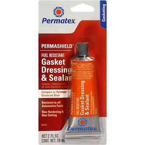Permashield Permatex 2oz Gasket Dressing Sealant Fuel Resistant Hylomar Blue