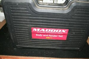 Maddox Mb7 1 Auto Body Fender 7 Piece Tool Set New In Carrying Case
