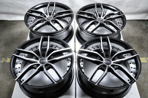 19 Wheels Mustang Highlander Camry Lancer Galant Cx 3 Cx 5 Black Rims 5x114 3