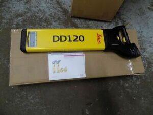 Leica Dd120 Underground Utility Locator With Depth Estimation Up To 10 Ft