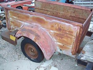 Vintage 48 52 1948 1952 Dodge Truck Bed Original 6 5 Bed